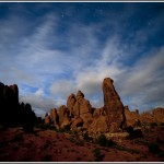 Arches National Park at night 3. - Photography by Jim Pearson © 2011