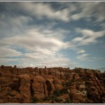 Arches National Park at night 4. - Photography by Jim Pearson © 2011